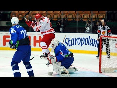 Slovenia vs. Poland - 2016 IIHF Ice Hockey World Championship Division I Group A