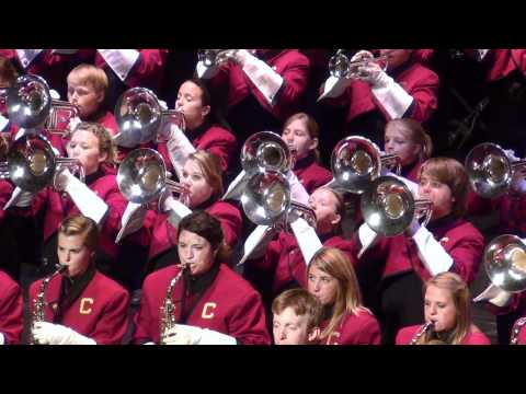 Central Michigan Fight Song ..by CMU Marching Band... Nov. 5th, 2011