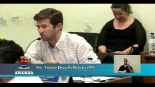 25ª Sessão Ordinária - Câmara Municipal de Araras