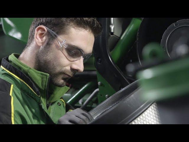 John Deere - Revisión profesional - Tractor - Filtro del aire