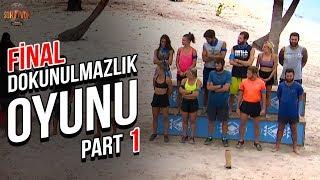 Final Dokunulmazlık Oyunu 1. Part   37. Bölüm   Survivor Türkiye - Yunanistan