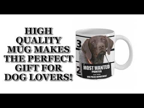 Most Wanted Pointer – 11oz White Ceramic Coffee Mug