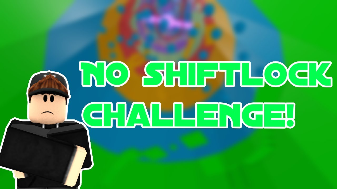 No Shift Lock Challenge Roblox Tower Of Hell Youtube
