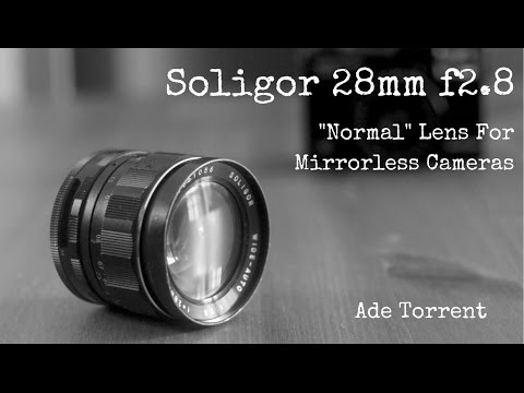 Soligor 28mm F2 8 Vintage Prime Lens | Perfect for Mirrorless Cameras?