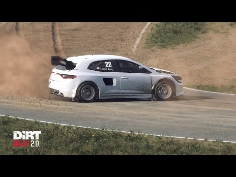 DiRT Rally 2.0 / World Record RX Barcelone / Renault Megane RS RX