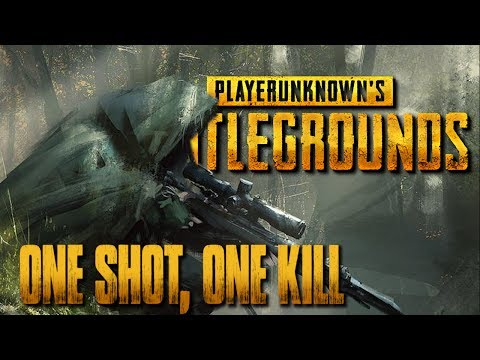 One Shot, One Kill - PlayerUnknown's Battlegrounds