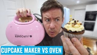 An electronic cupcake maker VS um, the oven?!