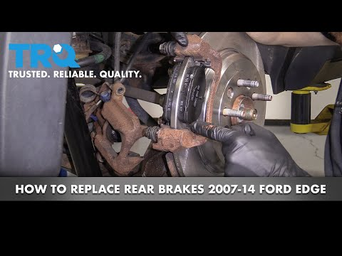 How to Replace Rear Brakes 07-14 Ford Edge