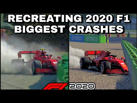 F1 2020 : Recreating the biggest crashes of 2020 |