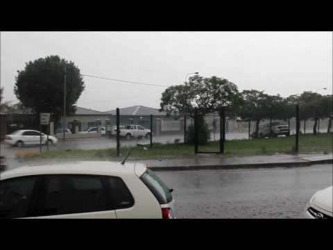 Heavy rain in Germiston