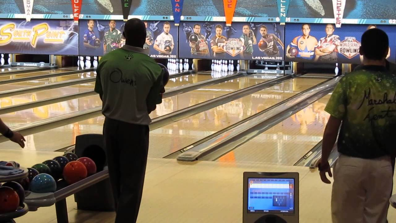 terrell owens first official pba tour shot on xtra frame