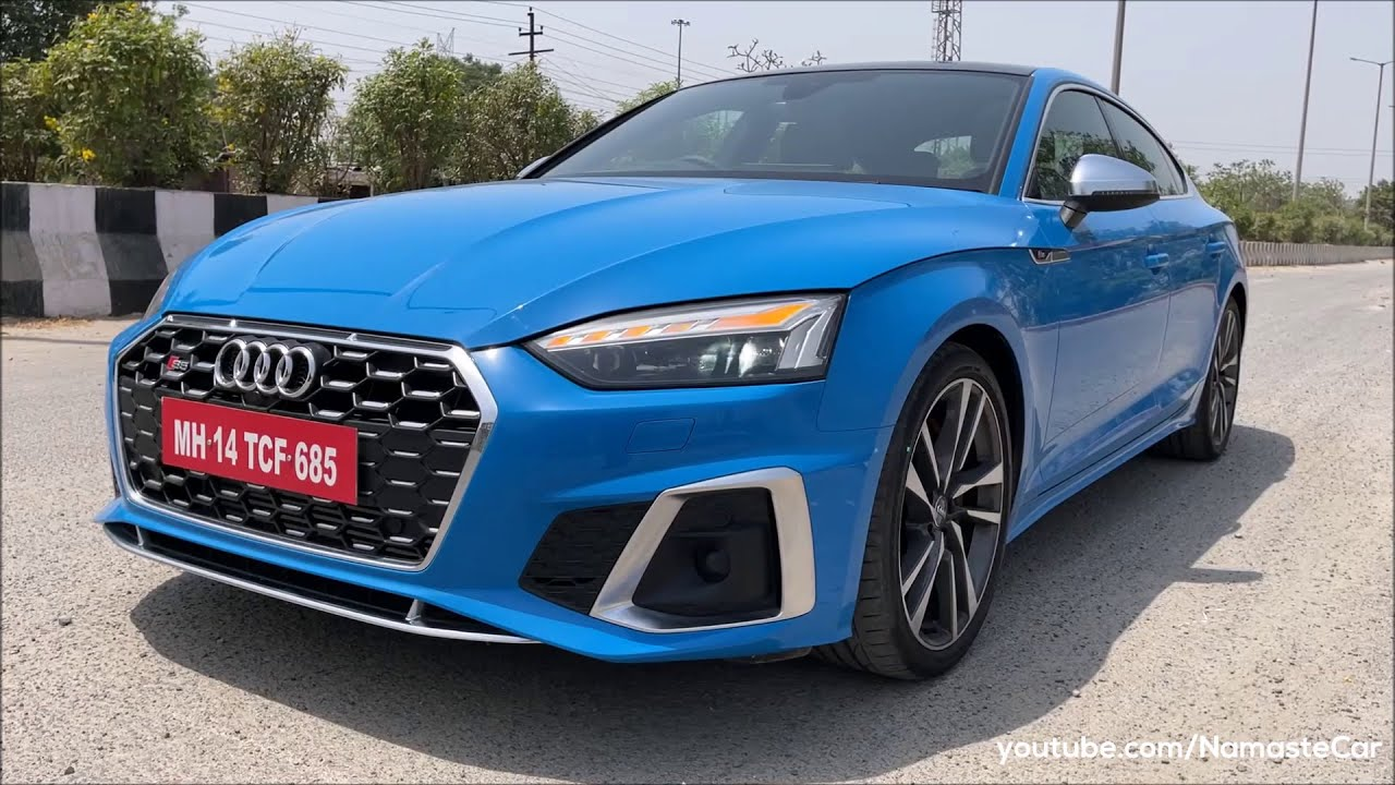 Audi S5 Sportback Quattro 2021- ₹79 lakh | Real-life review