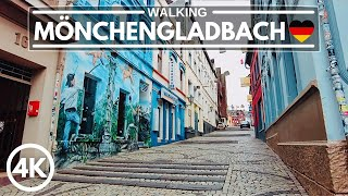 Germany 4K Walking Tour Mönchengladbach City of World Famous Soccer Team