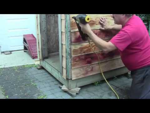 Make Your Own Wooden Siding