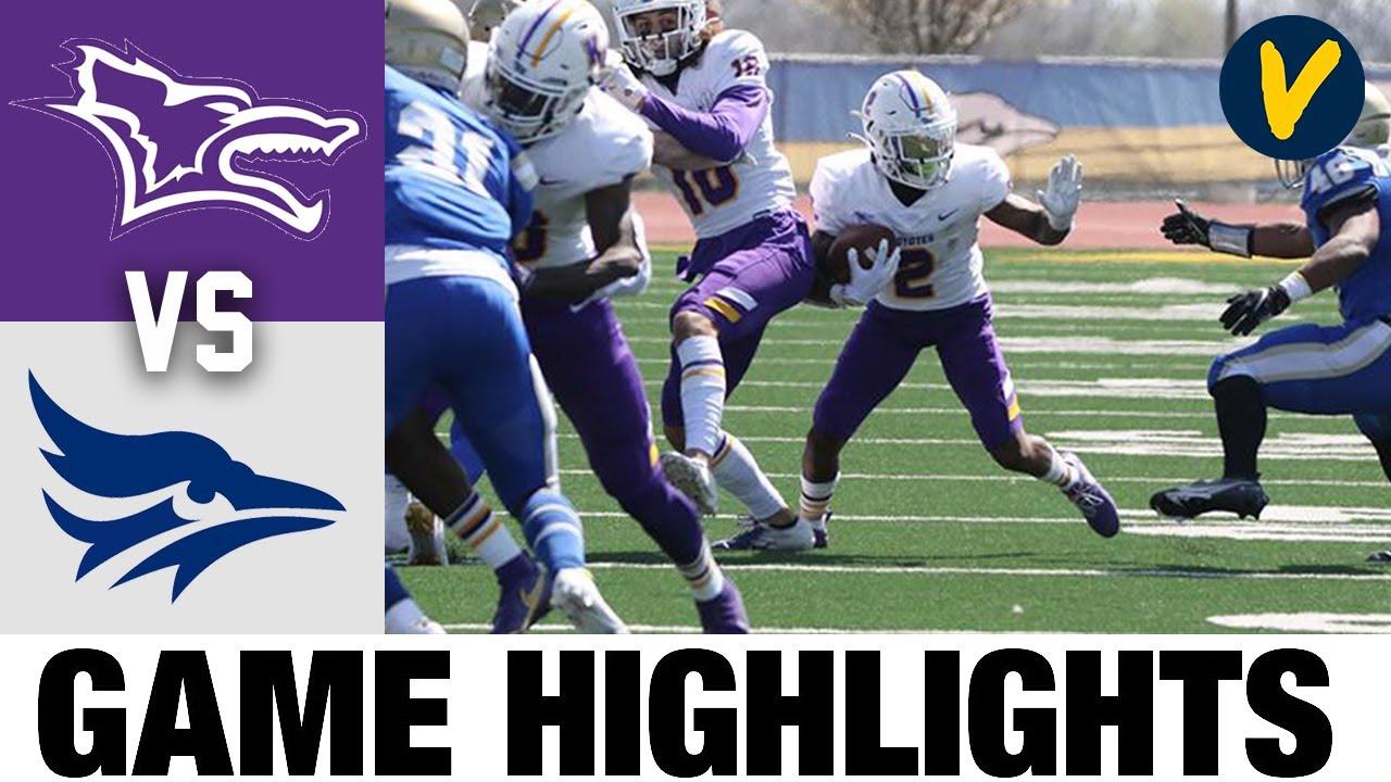 Kansas Wesleyan vs Tabor Highlights | NAIA 2021 Spring College Football Highlights