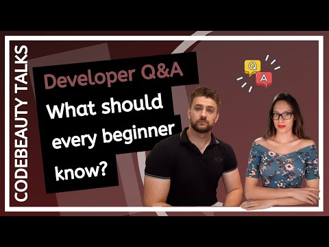 Developer Q&A With Lead Software Engineer - WHAT SHOULD EVERY BEGINNER DEVELOPER KNOW?
