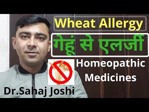 WheatAllergy? Homeopathic Medicine For Wheat Allergy!