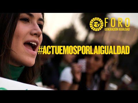 #ActuemosPorLaIgualdad - Un?monos a Generaci?n Igualdad