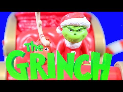 Grinch stole Christmas Toys Cindy Lou Holiday Heist Grinch takes presents