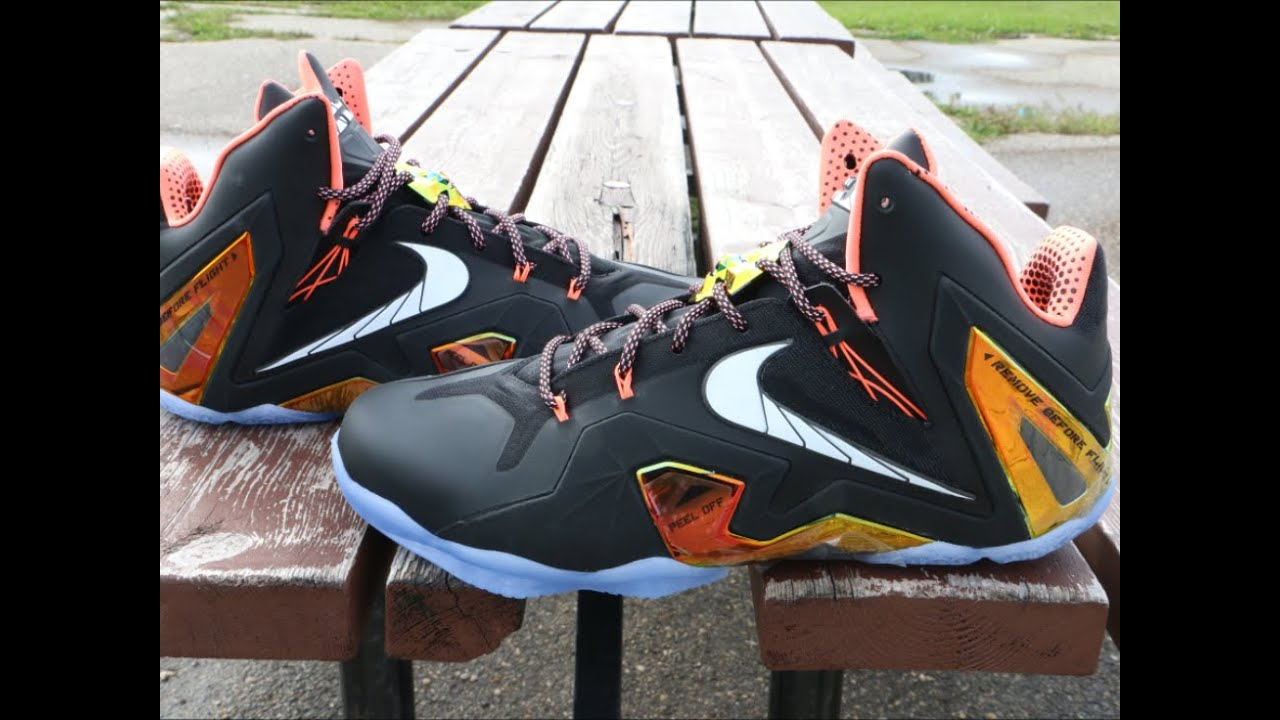 Nike LeBron 11 Elite Gold - Detailed Review - YouTube 04d5442d6