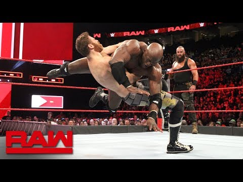 Braun Strowman & Bobby Lashley vs. Sami Zayn & Kevin Owens: Raw, April 23, 2018