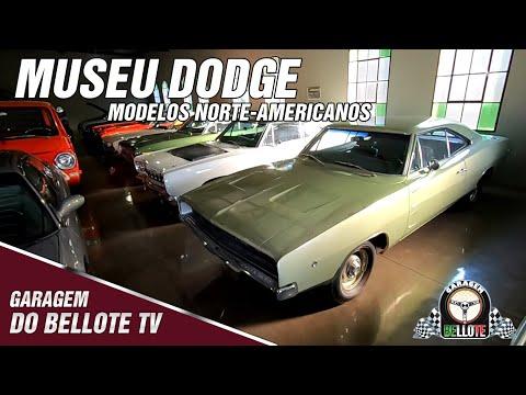 Museu Dodge e os modelos norte-americanos | Garagem Vlog #19