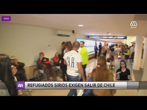 Refugiados sirios quieren irse de Chile - Ahora Noticias Central /24 de noviembre