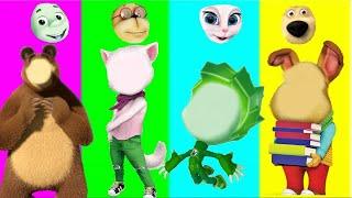 Обучающие мультики для малышей - играй вместе с Лунтиком Барбоскиными и Фиксиками