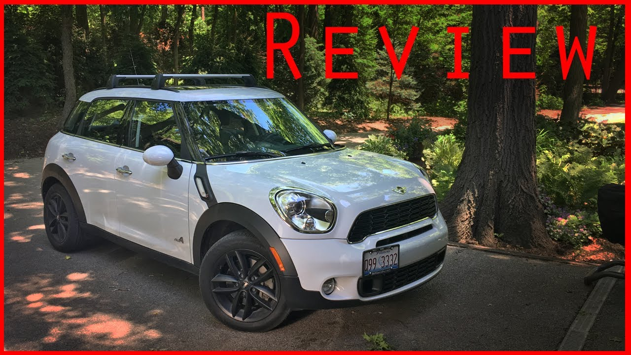 2013 Mini Cooper Countryman S All 4 Review Youtube