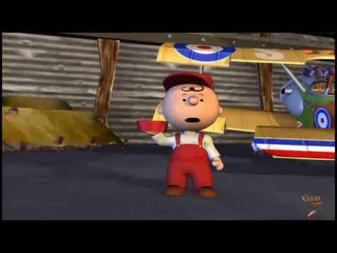 ✰Snoopy 3-D  ❝Red Baron❞ Mission: Complete✓