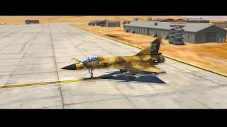DCS Mirage 2000C - Cockpit Familiarisation and Startup
