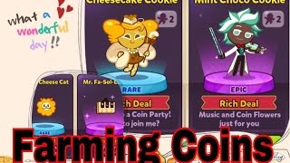 Cookie Run: OvenBreak! Farming Coins (33K)