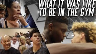 Experience The Madness of The HYPEST GAME OF ALL TIME! Lamelo Ball vs Zion Williamson