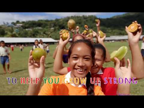Ministry of Health Samoa: Eat a Rainbow