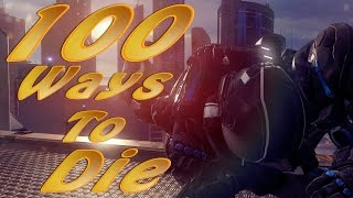 100 Ways To Die In Halo 5 (Halo 5 Machinima)