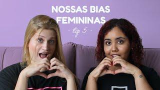 Gambar cover NOSSAS BIAS FEMININAS DO KPOP💕