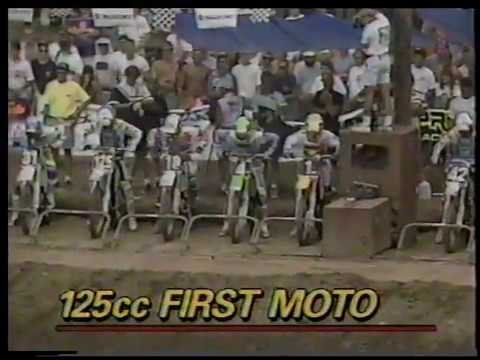 1991 outdoor motocross nationals round 7 southwick, ma