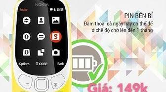 Điện thoại MAXX N3310 CLASSIC 2 SIM - HÀNG NHẬP KHẨU (Bảo hành 12 tháng)