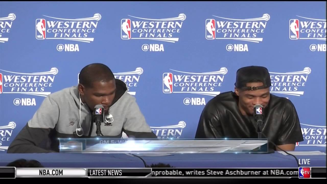 KD On Steph Curry's D