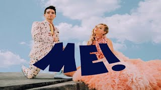 Taylor Swift - ME! (Lyrics Video) Ft. Brendon Urie of Panic! At The Disco Video