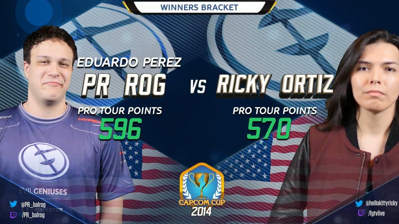 USFIV: EG PR Balrog vs EG Ricky Ortiz - Capcom Cup 2014 - First ...