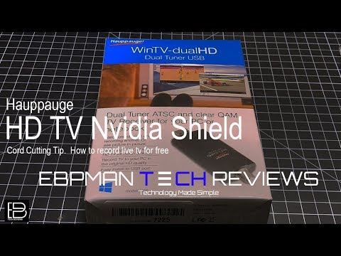 How To Watch And Record Live TV Nvidia Shield Plex Live TV | Cord Cutting Tip