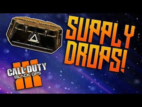 WORLDS LUCKIEST BLACK OPS 3 SUPPLY DROP OPENING! - NEW RARE WEAPONS BO3 #1