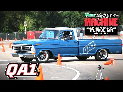 QA1 1965-1972 Ford F100 Front And Rear Coil Over Suspension Street Machine Nationals St. Paul V8TV