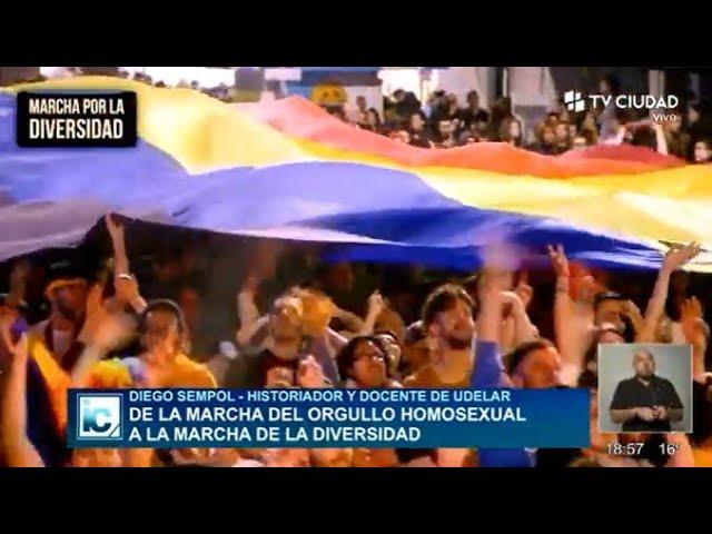 Informe Capital | Columa Infome Mariana Abreu: Marcha de la diversidad.
