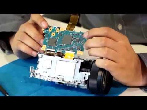 A Look Inside the Sony 4K Camcorder (Teardown)