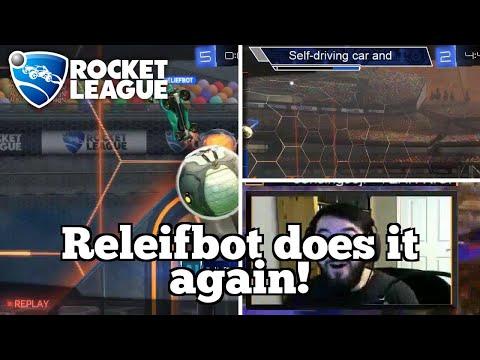 Daily Rocket League Moments: Releifbot does it again! thumbnail