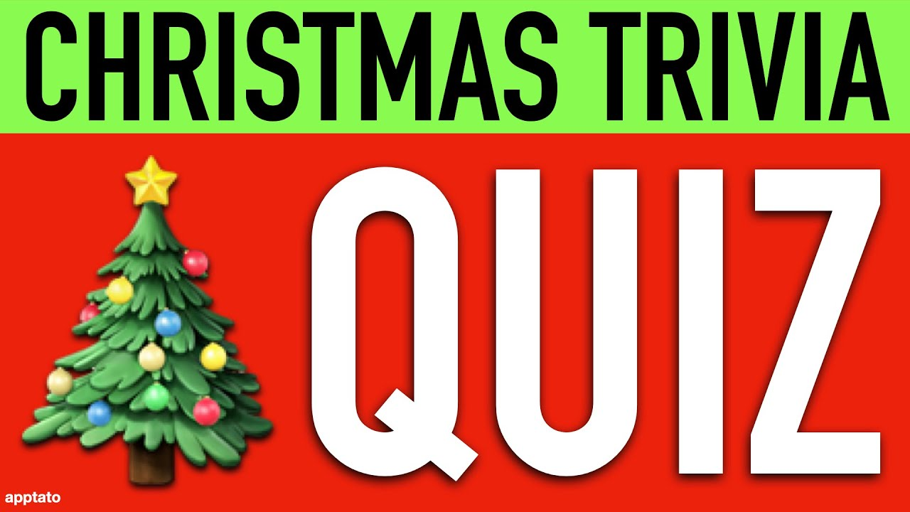 CHRISTMAS GENERAL KNOWLEDGE QUIZ - 10 Christmas Trivia Questions and  Answers for Christmas Eve / Day - YouTube