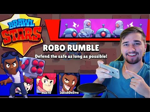 Brawl Stars CZ/SK | ROBO RUMBLE MODE za Brocka! | Jakub Destro