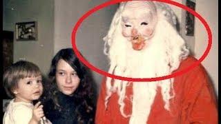Przerażające zdjęcia dzieci ze Świętym Mikołajem! Świąteczny Przegląd Zjawisk...